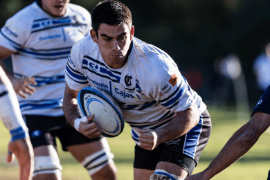 Manu Sobrino – Capitán Rugby Ciencias